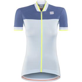 Sportful Grace Koszulka kolarska, krótki rękaw Kobiety niebieski/turkusowy